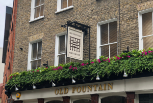 The Old Fountain pub in London, Old Street, Shoreditch