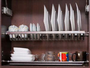 plate rack cupboard storage solutions shoreditch